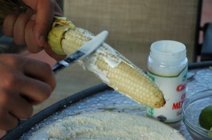 Crema on Corn