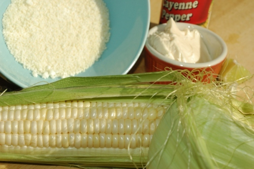 Everything you need to make elote loco!